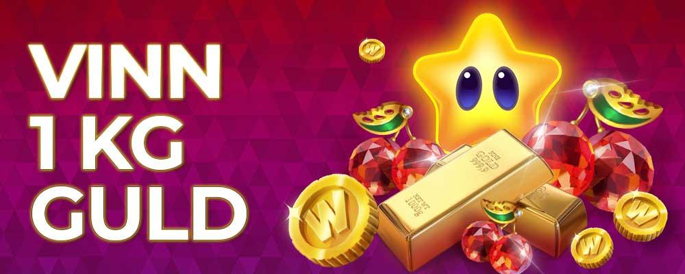 Vinn 1KG guld med CherryCasino
