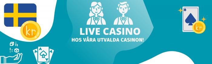 Spela på Live Casino i Sverige