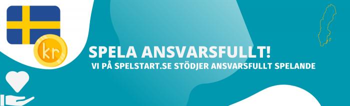 Spela ansvarsfullt hos spelstart.se - www.stödlinjen.se och www.spelstopp.se finns där när du behöver det som mest. Casinon ska vara roligt och inte ett beroende.