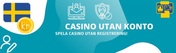 spale casino utan konto och spela utan registrering
