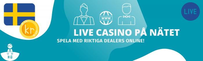 Välkommen till din Live Casino sida! Vi jämför live casino spel på nätet hos Svenska casinon. Spela med riktiga dealers online du också.