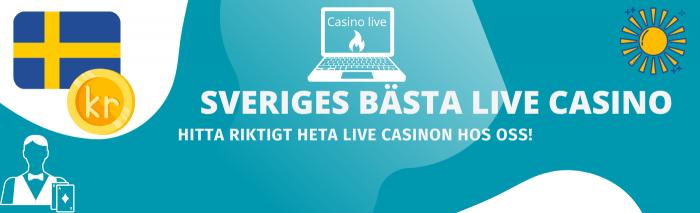 Sveriges bästa realtids casino