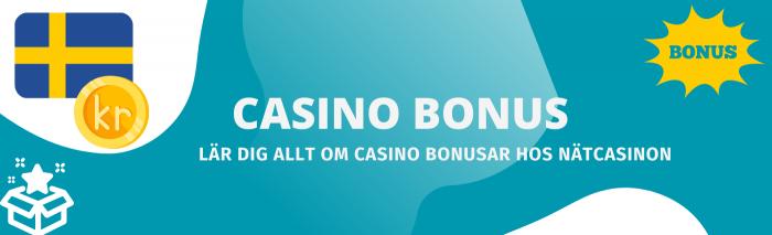 Hitta din bästa casino bonus 2021 hos oss på Spelstart. Information om casino bonus utan insättning och mycket annat finns att läsa hos oss.