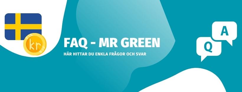 Frågor och svar om Mr Green