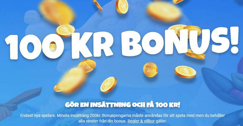 100 kronor casinobonus hos prank casino