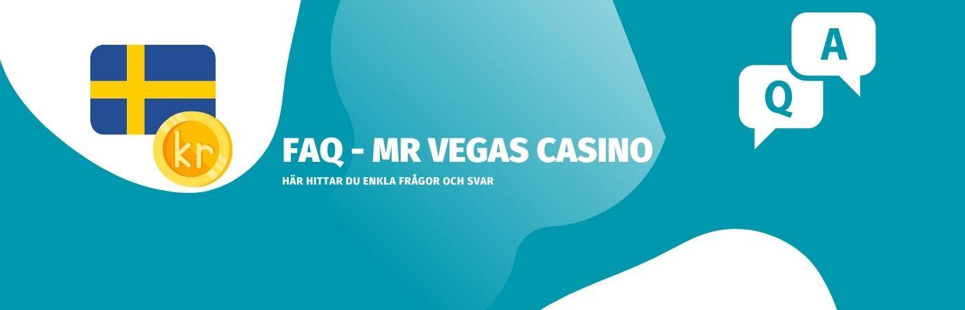Vanliga frågor om Mr Vegas casino