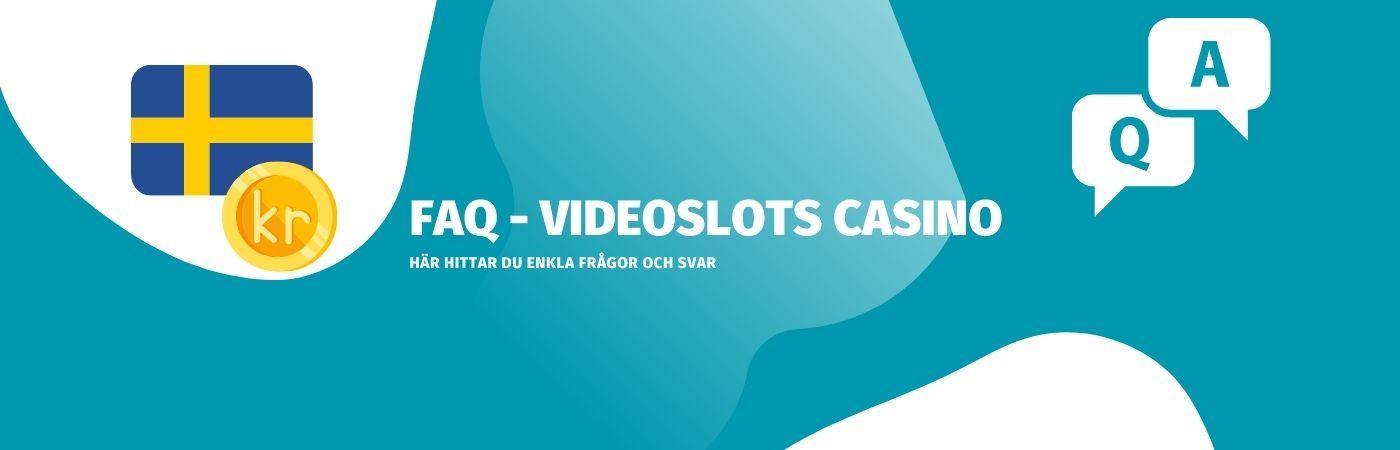 Vanliga frågor och svar om videoslots casino
