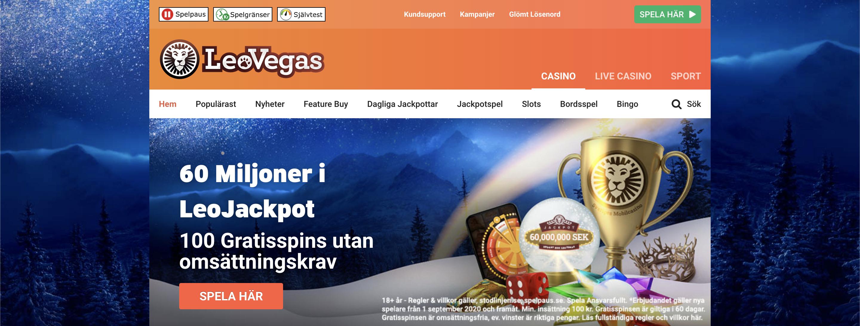 LeoVegas Casino Recension 2021