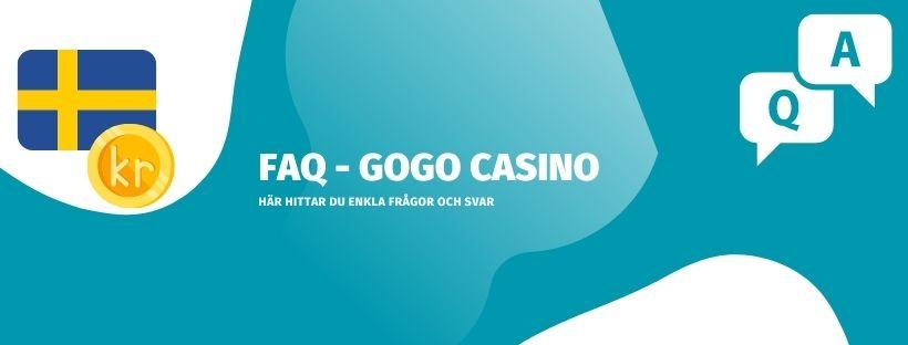 FAQ - vanliga frågor och svar om GoGo