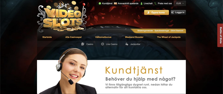 Kundtjänst och support på Svenska
