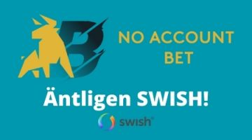Swish hos No Account Bet - No Account Casino och Prank Casino!