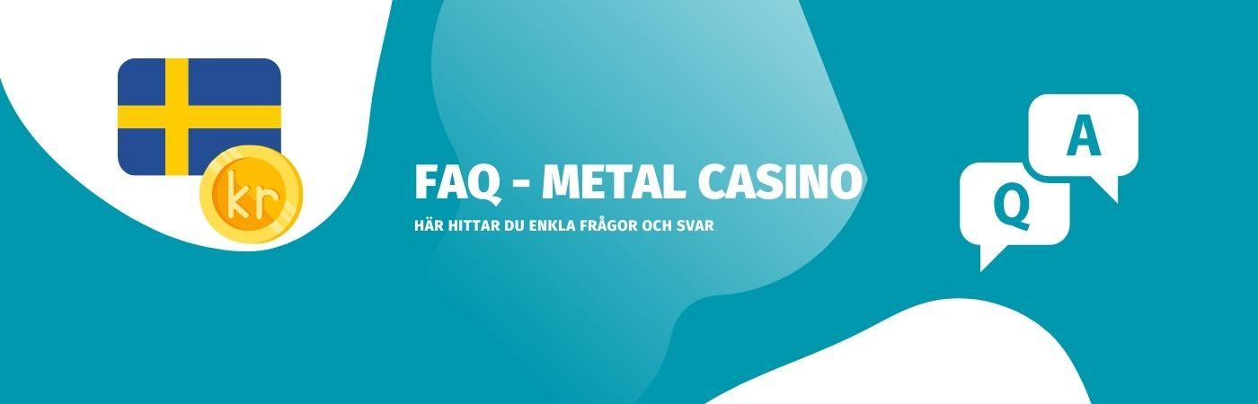 Vanliga frågor och svar hos casinot